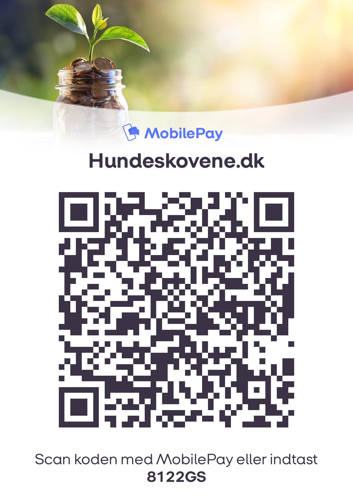 Støt Hundeskovene.dk via Mobilepay